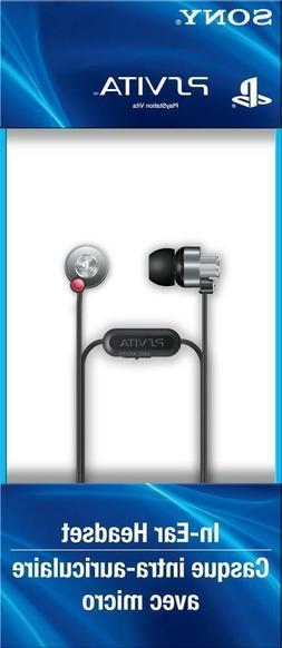 100% OFFICIAL NEW SONY PS VITA IN-EAR HEADSET EARBUD HEADPHO