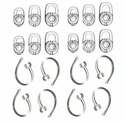 12-Piece Replacement Earbud Gel Ear Hook for Plantronics Voy
