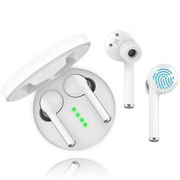 Wireless Bluetooth 5.0 Earbuds HIFI Waterproof Fast Connecti