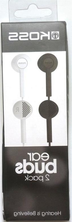 KOSS 184084 KE7 Earbuds/Earphones,2 pk  for mp3/tablet/radio