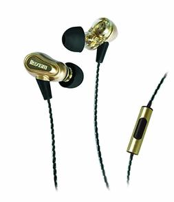Maxell 199771 Dual Driver Earbuds with Mic