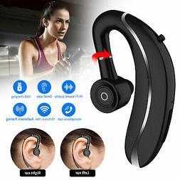 Wireless Bluetooth 5.0 Earpiece Driving Trucker Headset Earb
