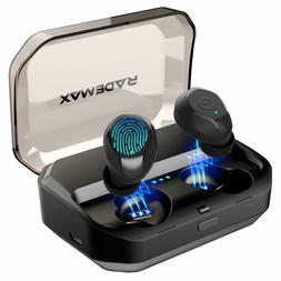 True Wireless Earbuds, Bluetooth 5.0 Earbuds IPX7 Waterproo