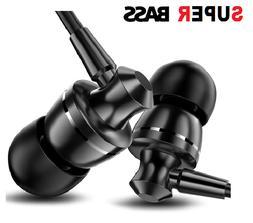 3.5 MM Wired Super Bass Earphone Headphone Earbuds Headset F