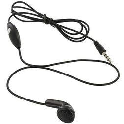 3.5mm Mono Single Earphone Earbud Headset With Mic Microphon