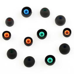 6Pairs Replacement Silicone Earbuds Ear Tips For Sony XBA MD