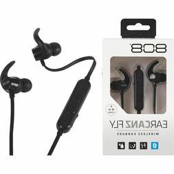 808 Earcanz Fly Wireless Earbuds - Stereo - Black - Wireless