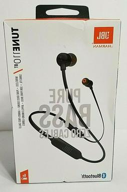 JBL Lifestyle Tune 110BT Wireless in-Ear Headphones, Black