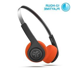 JLab Audio Rewind Wireless Retro Headphones   Bluetooth 4.2