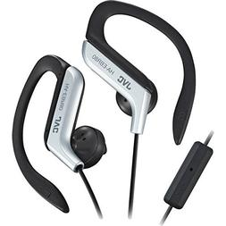 JVC - Sport-Clip In-Ear Ear-Clip Headphones with Microphone