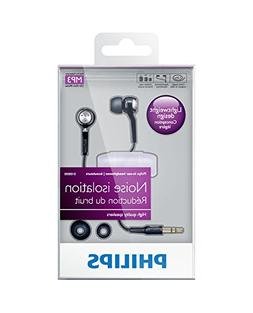 Philips In-Ear Headphones SHE8500  - Ergonomic Earbuds with