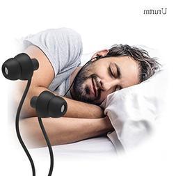 Sleep Soundproof Earbuds Headphones, Noise Isolating Soft Ea