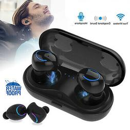 Waterproof Wireless Headset Earbuds 5.0 Headphone Sport Earp