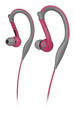 Philips Action Fit Sports Earhook Headphones Ultra Light Kel