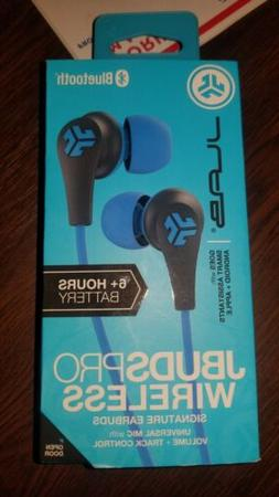 JLab Audio - BLUE JBuds Pro Bluetooth Wireless Signature Ear