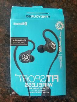 Jlab Audio Fit Sport 3 Wireless Fitness Gym Earbuds- Bluetoo