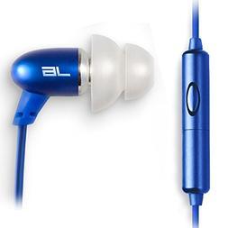 JLab Audio J6M High Fidelity Metal Ergonomic Earbuds Style H