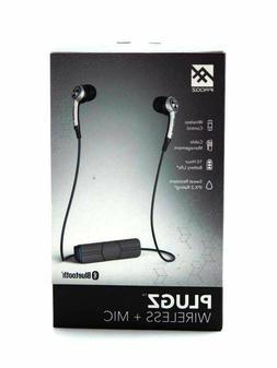 iFrogz Audio - Plugz Wireless Bluetooth Earbuds - Silver