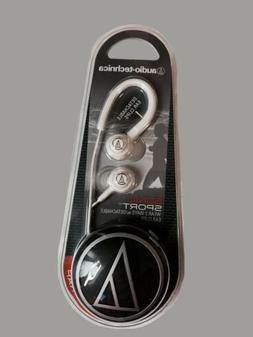 audio technica sonic sport audio headphones white