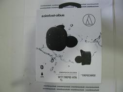 Audio-Technica SonicSport True Wireless Sports Earbuds - Bla