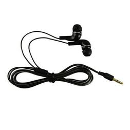 Black Stereo In-Ear Earbuds Bass Headphones for HTC/iPhone/S
