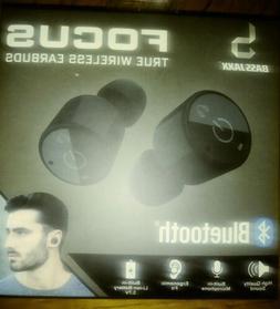 BlueJaxx Bluetooth Focus True Wireless Earbuds Black