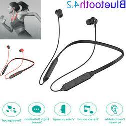 Bluetooth 4.2 Headset Wireless Sport Stereo Headphones Earph