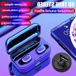 Bluetooth 5.0 Headset TWS Earphones Wireless  Earbuds Noise