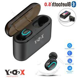 Bluetooth 5.0 Headset TWS Twins Wireless Earphones Mini Earb