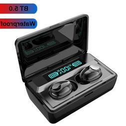Bluetooth 5.0 Headset TWS Wireless Earphones Earbuds Stereo