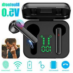 bluetooth 5 0 headset tws wireless headphone