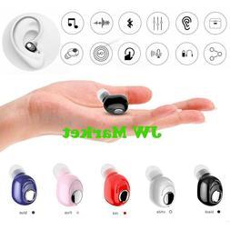 Mini Wireless Bluetooth Earbud In-Ear Stereo Earphone Sport