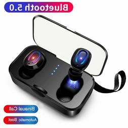Bluetooth 5.0 True Wireless Earbuds Headset TWS Stereo Touch