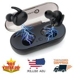 Bluetooth 5.0 Headphones Wireless Earbuds TWS True Touch Min