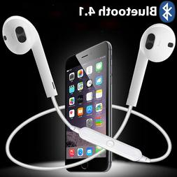 For Bluetooth Earphones Earbuds with Mic & Volume Control fo