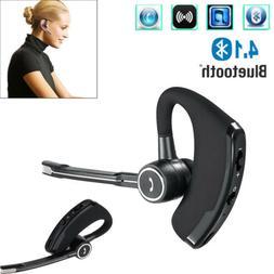 Bluetooth Earpiece On-Ear Earbud Noise Cancelling Car Drivin