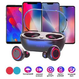 Bluetooth Headset Stereo Sport Wireless Headphone Earphone f