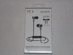 iHOME BLUETOOTH NOISE-ISOLATING METAL EARBUDS W/RAPID-CHARGE