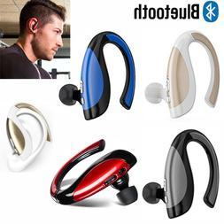 Bluetooth Wireless Earbud Handsfree Headphone with Mic For i