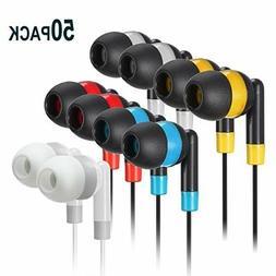 Bulk Earbuds Headphones Wholesale Earphones - Keewonda 50 Pa