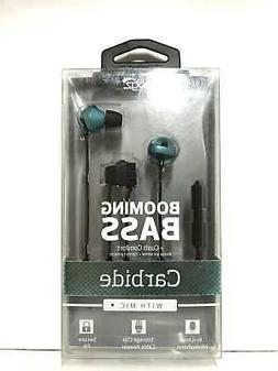 iFrogz Carbide Booming Bass Earbuds Headphones with Built-In