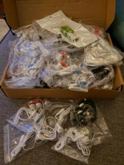 Colored Wholesale Bulk Earbuds 100 Pack Earbuds Headphones f