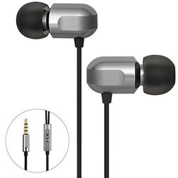 Earbuds, GGMM Headphones with Microphone Noise Isolating Hea