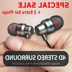 Earbuds In-Ear Sound Isolating Wired Headphones Headset Mic