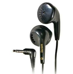 Maxell EB-95 In-Ear Stereo Headphones, Black 10-Pack 190560
