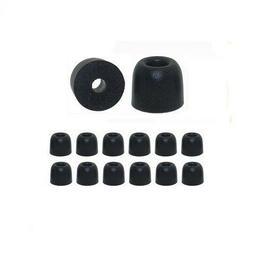 EP100 - 6 pr Memory Foam ear tips for Shure Earbuds