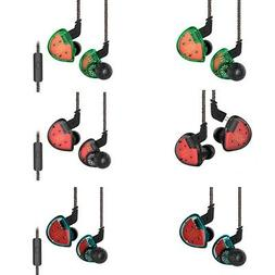 KZ ES4 Extra Bass High Fidelity Earbuds with Microphone Bala