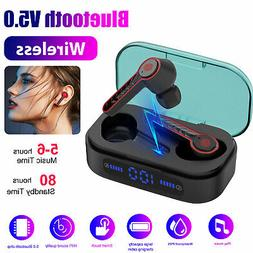 TWS Wireless Bluetooth 5.0 Headset Earphones Mini Stereo Bas