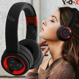Foldable Bluetooth 5.0 Headphones Wireless Stereo Headsets O