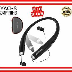 Foldable Bluetooth Headphones Wireless Neckband Sports Heads